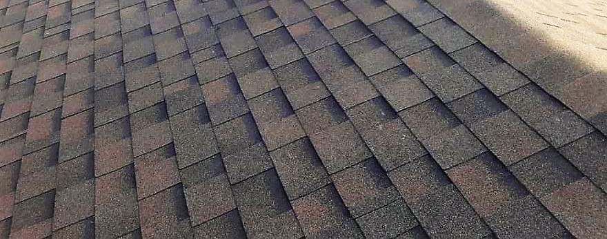 Black roofing